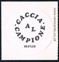 1969 The Beatles Italian psychedelic card